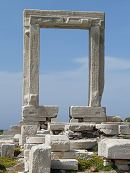 Portara in Naxos Greece